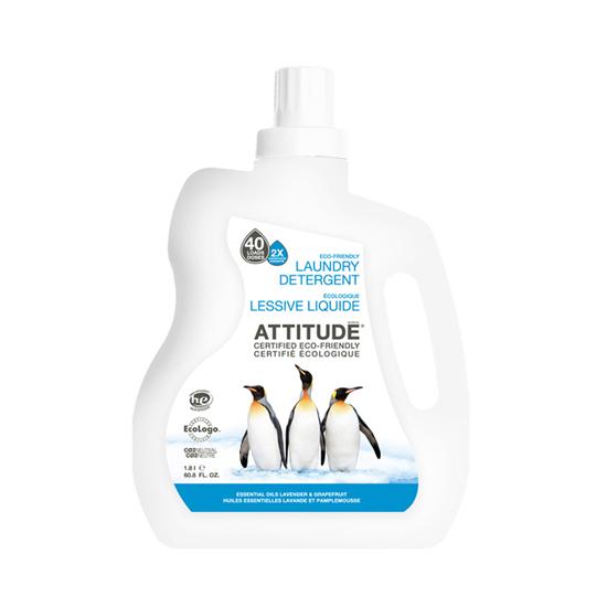 Экологическое средство для стирки лаванда и грейпфрут attitude (Attitude)