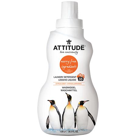 Концентрированное средство для стирки citrus zest attitude