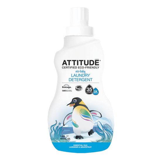 Экологическое гипоалергенное средство для стирки attitude (Attitude)