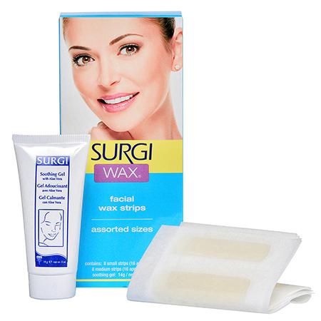 Набор для удаления волос на лице surgi (Surgi)
