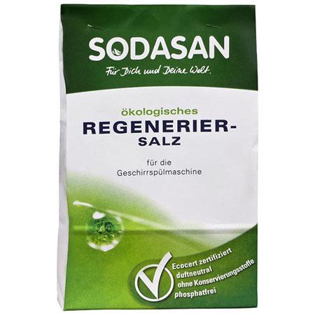 Соль для посудомоечных машин sodasan